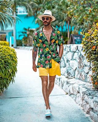 chapeu masculino praia