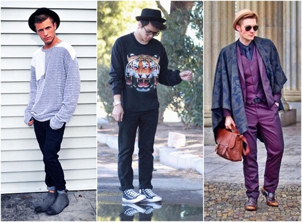 chapeus masculinos da moda