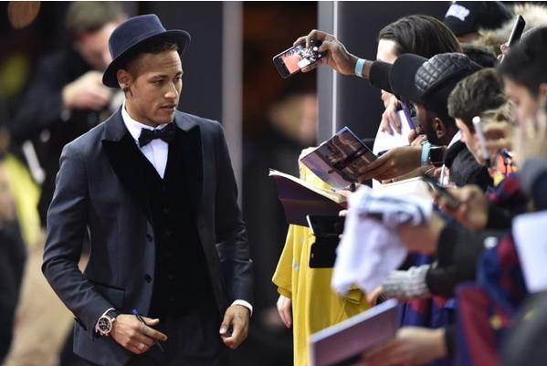 chapeu neymar